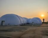 Frightening Storm over the Mobile Hangar - Mandalay | Solar Impulse | Stefatou | rezo.ch
