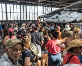 Public Visit in Hawaii | Solar Impulse | Jean Revillard | rezo.ch