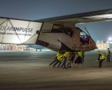 First ground test Breathtaking photos in Abu Dhabi | Solar Impulse | Revillard | Rezo