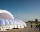 Mobile Hangar Test in Abu Dhabi | Solar Impulse | Stefatou | Rezo.ch