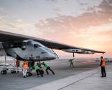 First outing in Abu Dhabi of #Si2 | Solar Impulse | Ackermann | Rezo