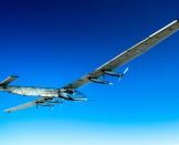 Superbes photos du 18ème vol de Si2   Solar Impulse   Anna Pizzolante   Rezo.ch