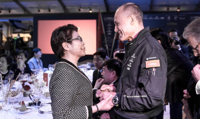 Nanjing, Swiss Representatives Dinner | Solar Impulse | Pizzolante | Rezo.ch