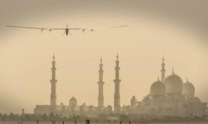 André Borschberg's training flight | Solar Impulse | Jean Revillard | Rezo.ch