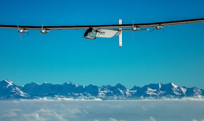 Superbes photos du 18ème vol de Si2 | Solar Impulse | Anna Pizzolante | Rezo.ch