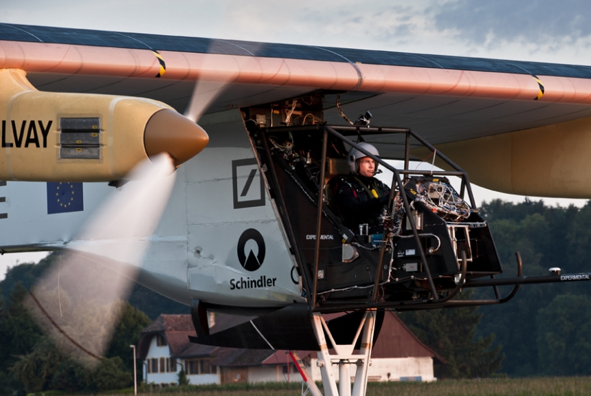 Bertrand Piccard's First Flight